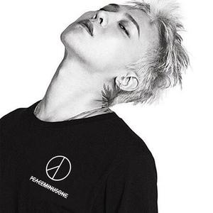 pmo同款peaceminusone潮牌T恤男BIGBANG ins超火的情侣装