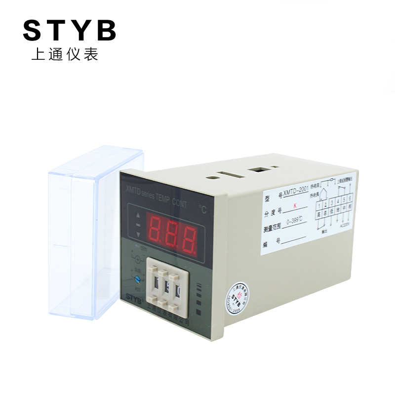 Temperature control switch K type temperature controller switch, xmtd-2001 adjustable temperature digital display temperature controller