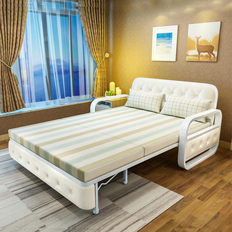 Τον καναπέ - κρεβάτι πτυσσόμενου σαλόνι διπλό μικρό διαμέρισμα μονό ένταση ανακληνώμενα πολυλειτουργική ύφασμα 1,5 m