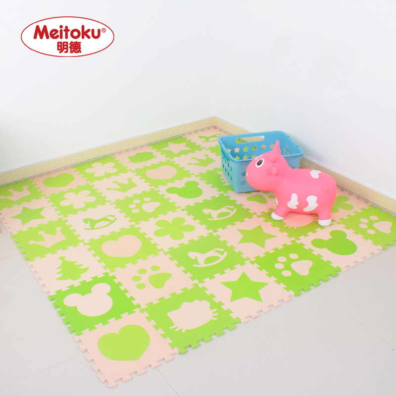 Ming De suit children puzzle mats foam sponge pad household bedroom mosaic tatami floor mat crawling