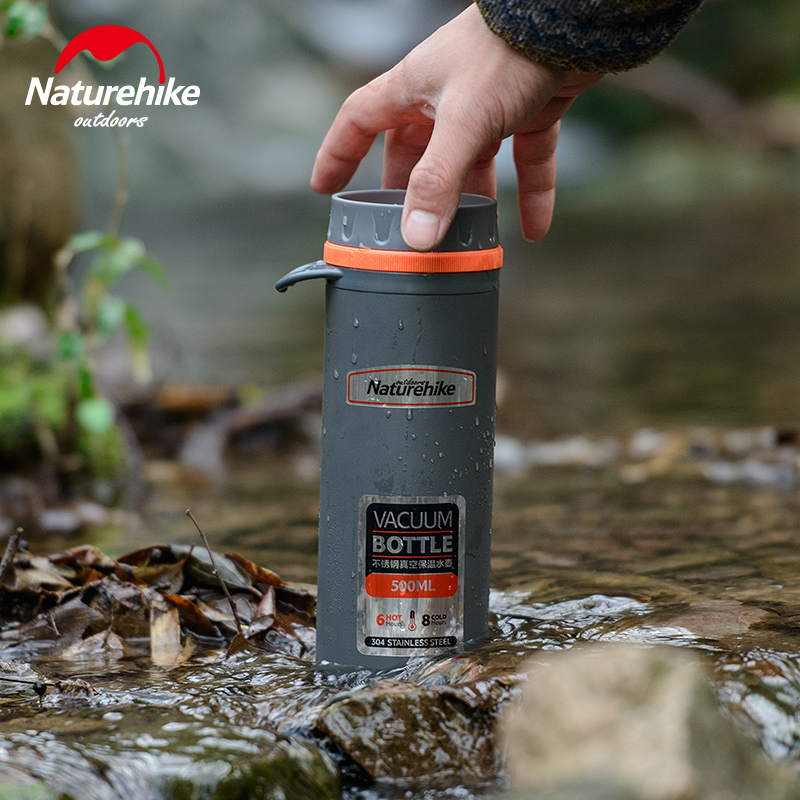 NH direct drinking cup stainless steel vacuum thermos cup and portable large capacity outdoor sports cups Cup