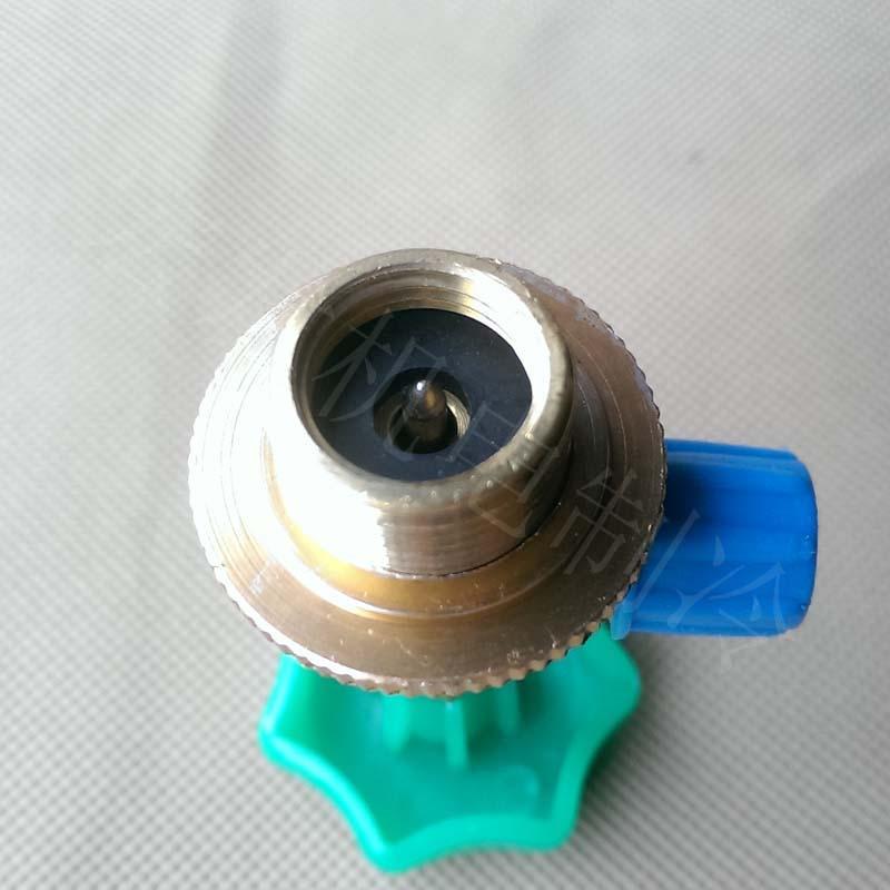 冷媒栓抜きR12 / 600A / 22 / 410 / 134開くバルブ雪種類本入り銅製雪種類瓶を開くバルブ
