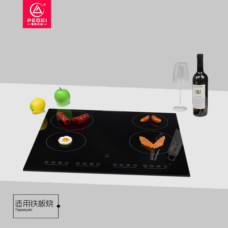 Cztero-palnikowa czteropalnikowa kuchenka indukcyjna Niemcy importowana czteropalnikowa kuchenka garnka do użytku domowego