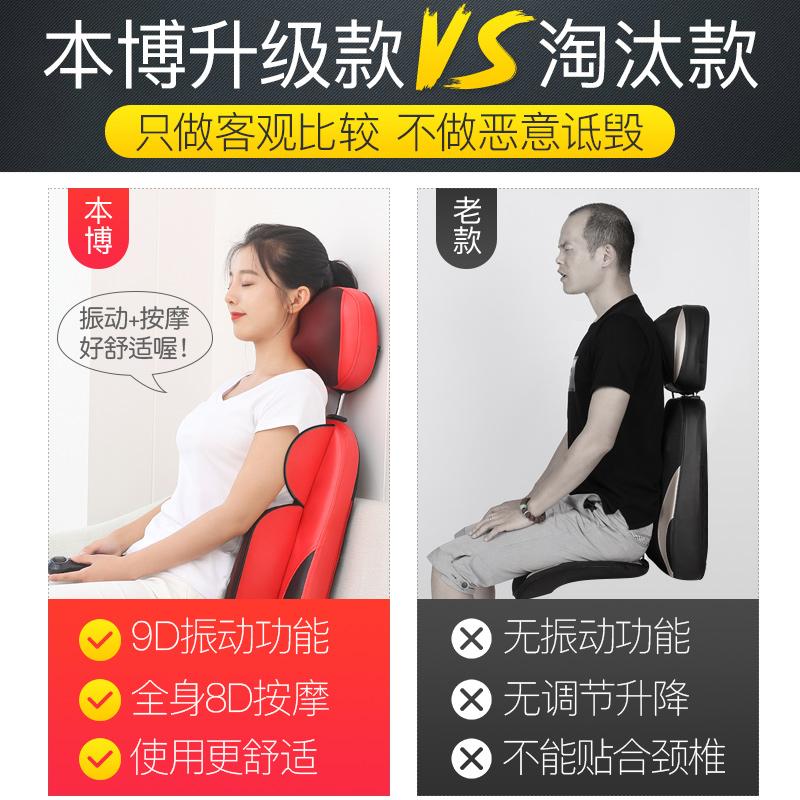 Cổ Electric eo hông lưng gối đệm có thể có nhiều khả năng nhà Hồng ngoại.