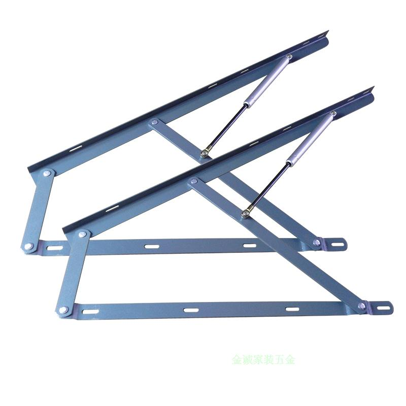 The bed box hydraulic rod bedplate support platform with high box bed gas support with tatami bed pressure rod lifter