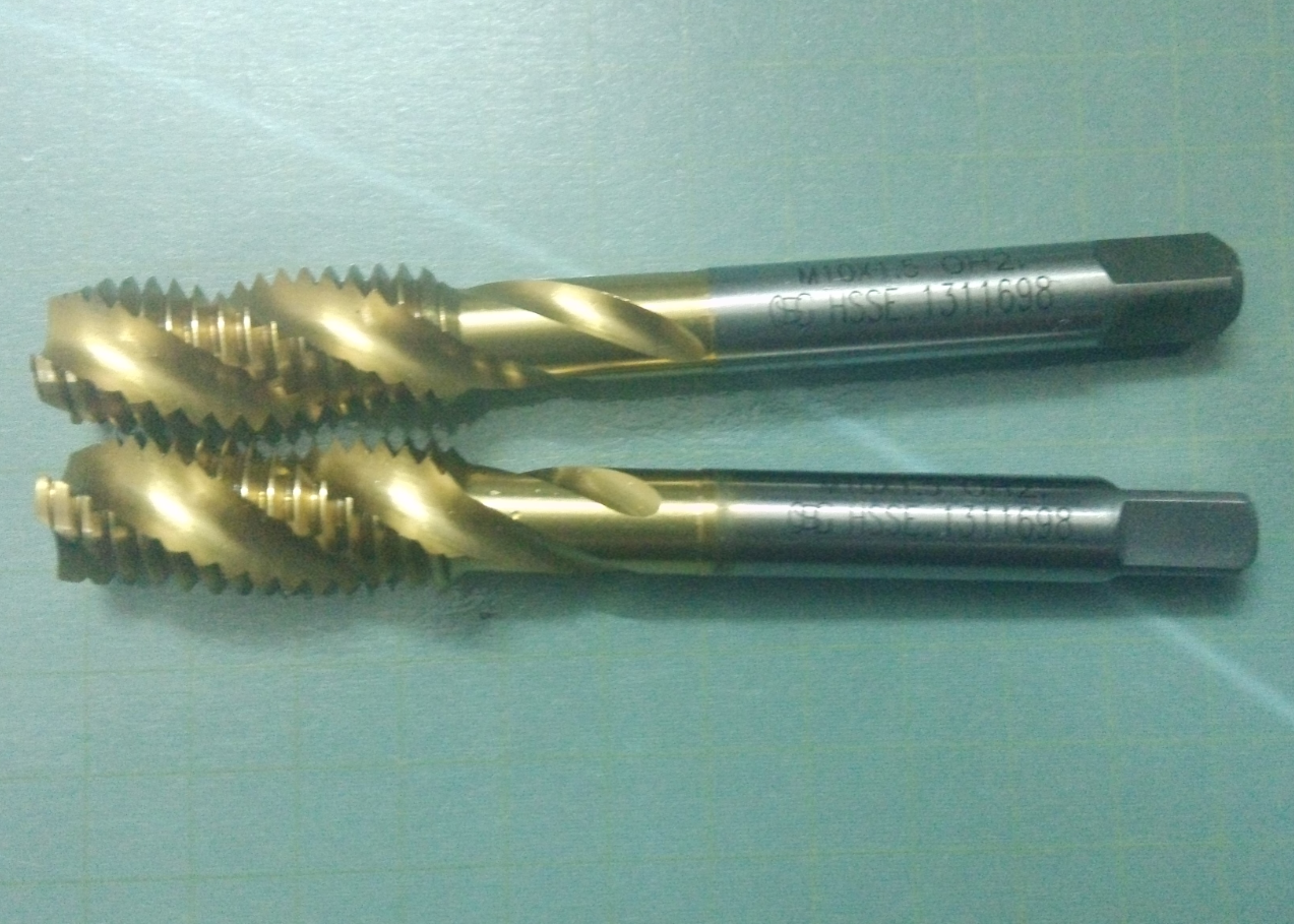 Japan OSG titanium screw tap M1.2, M2*0.4, M3, M4, M5*0.8, M6, M8, M9, M10, M12