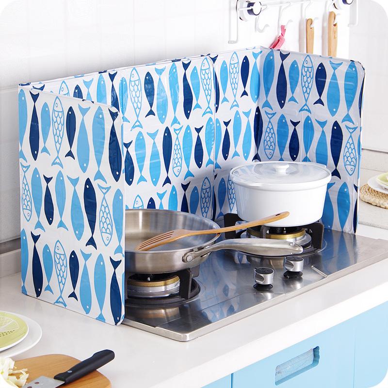 c in ustvarjalne tiskanje olje blokira krožnik v kuhinjo in ločevanje olja iz aluminijaste folije, ognjišče pljusk 囜 kuhanje toplotne izolacije.