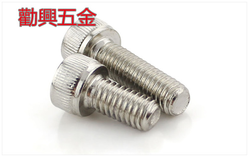 12.9 high strength nickel plated cup head with six corners screw and DIN912 bolt M12*16-120