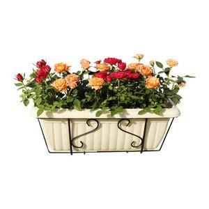 特大号多肉花盆配花架套装爱丽思壁挂盆树脂阳台菜盆长方形包邮