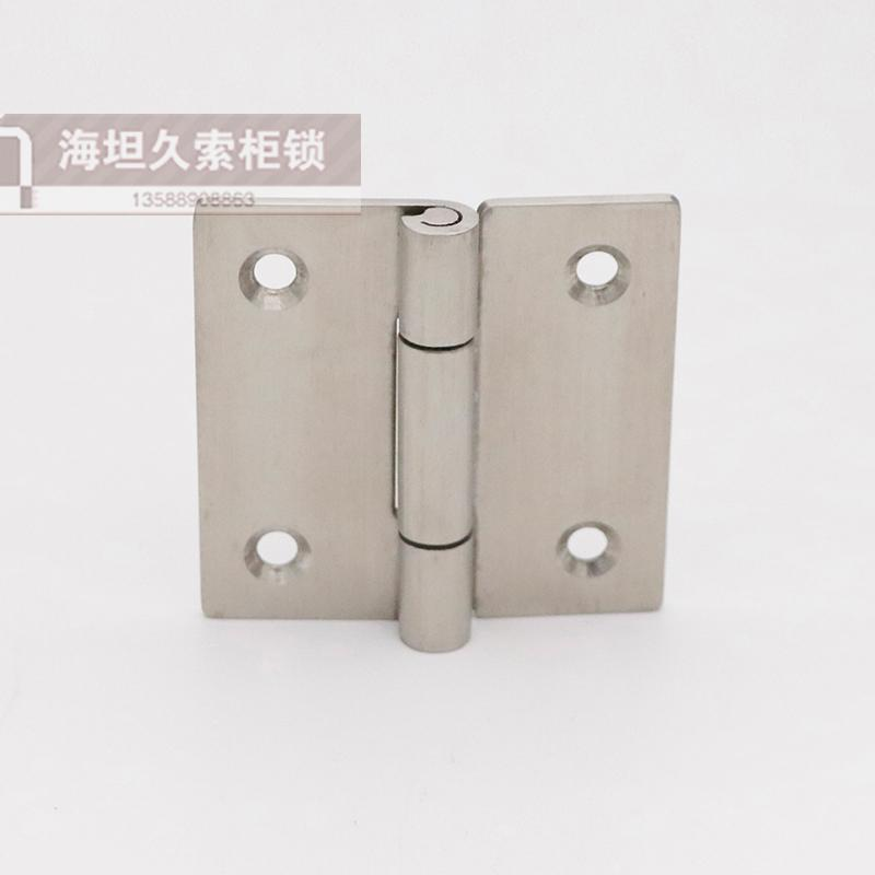 CL114 flat hinge 304 stainless steel turn over hinge surface wiredrawing processing and mechanical and electrical cabinet equipment box