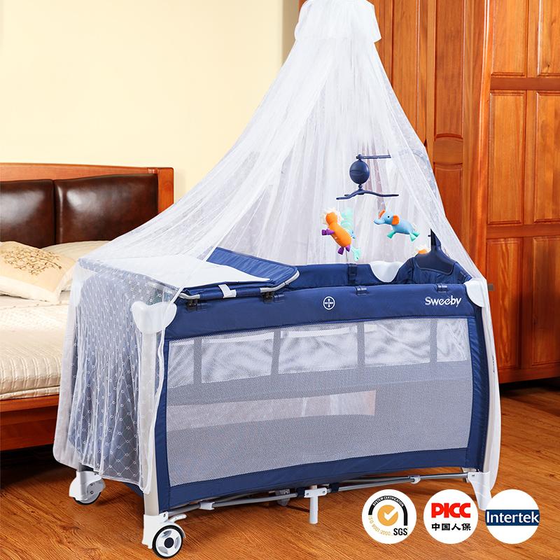 sweeby折りたたみベッドの多機能携帯ベッド赤ちゃん赤ちゃん新生児旅行ゲーム持って蚊帳ベッドベッド