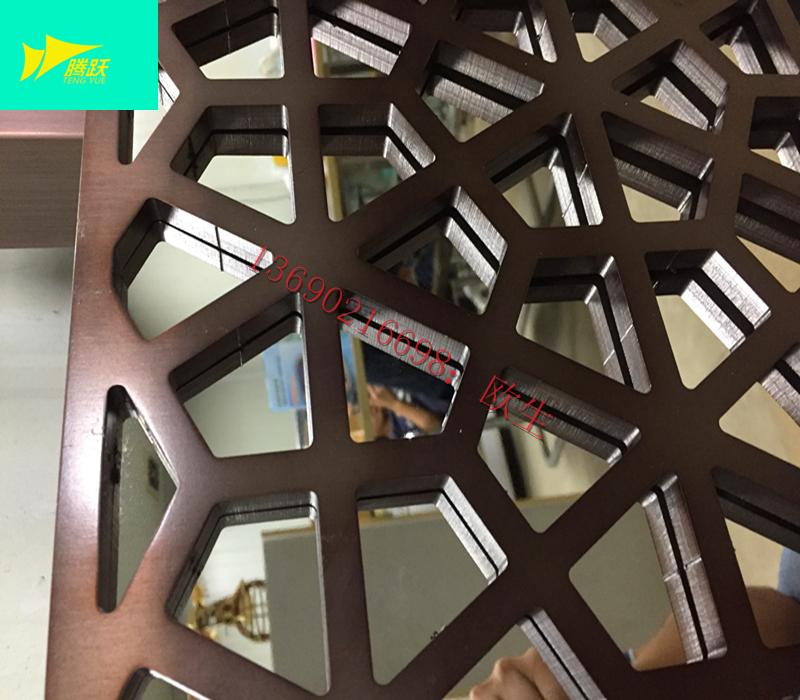 Edelstahl - Metall - gitter geschnitzten Hohl neUe chinesische ktv villa wohnzimmer dekorativen anpassen