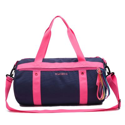 运动包女健身包韩版短途手提旅行包行李袋干湿分离斜挎包游泳包潮