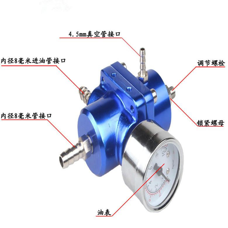 Válvula reguladora de pressão de combustível de carro turbo, O turbo do regulador de pressão de combustível