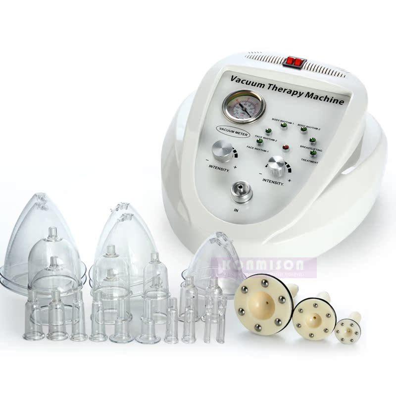 Mama - mama instrumento multifuncional eléctrico doméstico la enfermera de aparatos de masaje por presión negativa va raspando el pubis