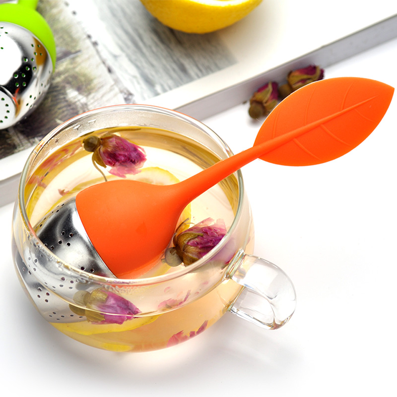 Creative tea tea maker filter 304 stainless steel tea tea maker with silica gel personality office tea filter