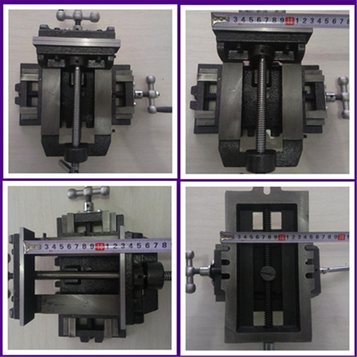 Vise vise vise drilling and milling machine drill cross clamp 3 Inch 4 inch 5 inch 6 inch 8 inch cross machine