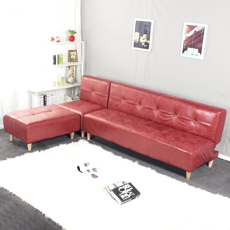 Τον καναπέ - κρεβάτι πτυσσόμενο καναπέ στο σαλόνι διπλό συνοπτική μικρό διαμέρισμα να μπορούν να πλένονται πολυλειτουργική 1,8 m καναπέ.