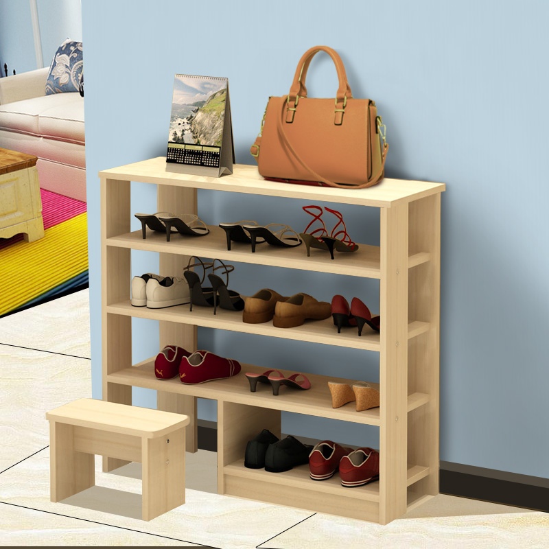 The multilayer shoe shoe rack simple household dust storage shelf dormitory simple modern shoe shoes special offer