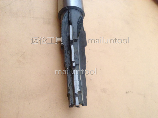 T-163A threaded cartridge valve forming reamer with alloy welding reamer