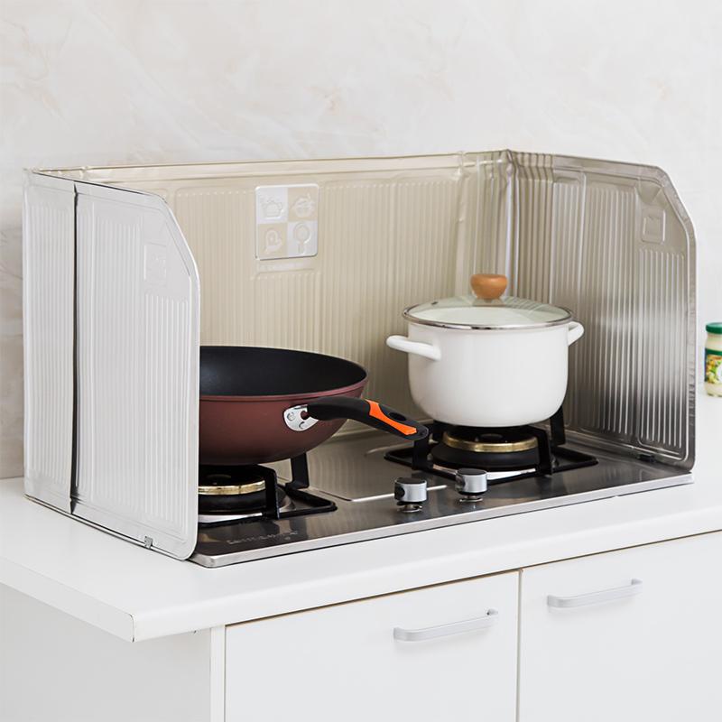 ploščad za kuhanje jedi olje blokira odbor toplotne izolacije ognjišča, aluminijasta folija, nameščena hlapov v kuhinji ploščice