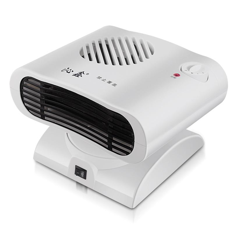 Mini - heizung, klimaanlage und kreativen geschenk für kleine elektrische heizung energieeinsparung warme Luft kann den kopf schütteln