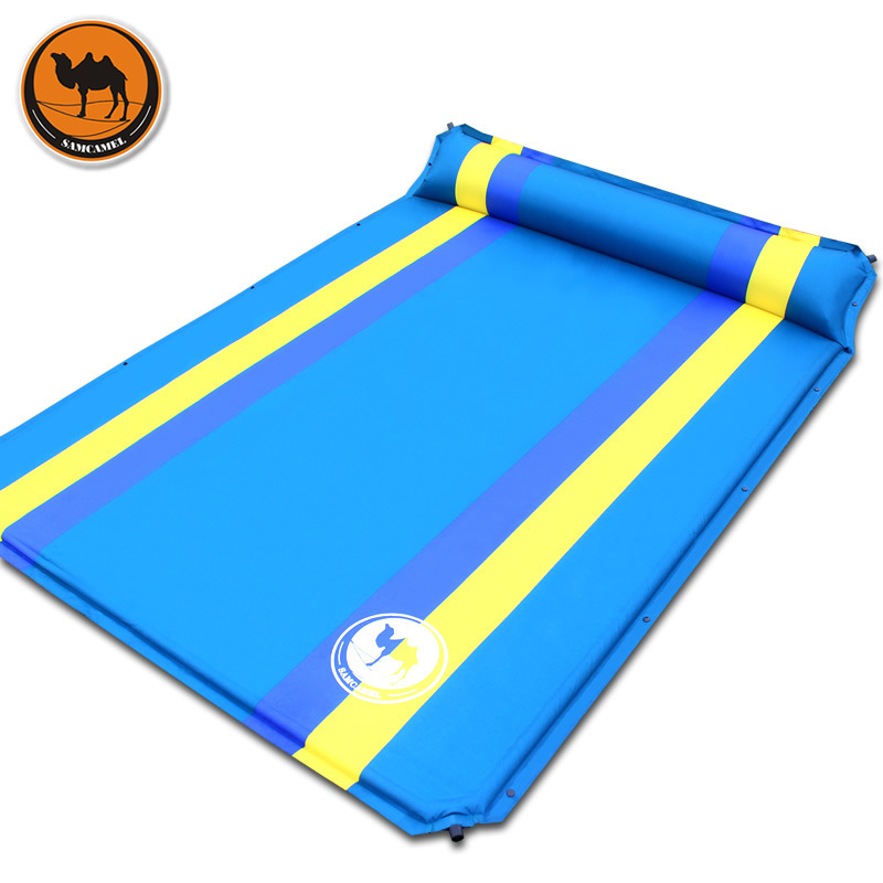 Double color automatic inflatable cushion fit outdoor camping mats pad car mattress pad auto lathe