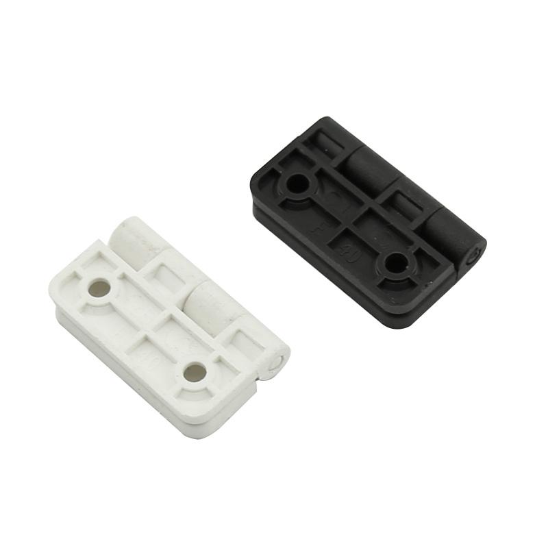 エンジニアリングプラスチック減衰蝶番は4桁のナイロンヒンジヒンジ白黒X500-C