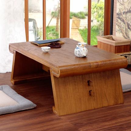 Paulownia wood table window tatami bed a few short Kang Kang Table table table table Ancient Chinese Literature Search Mini platform