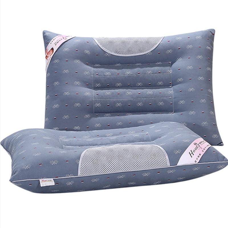 成人四季修復バルクケツメイシ枕睡眠に役立つ通気首護頚枕ペア快適苦荞麦