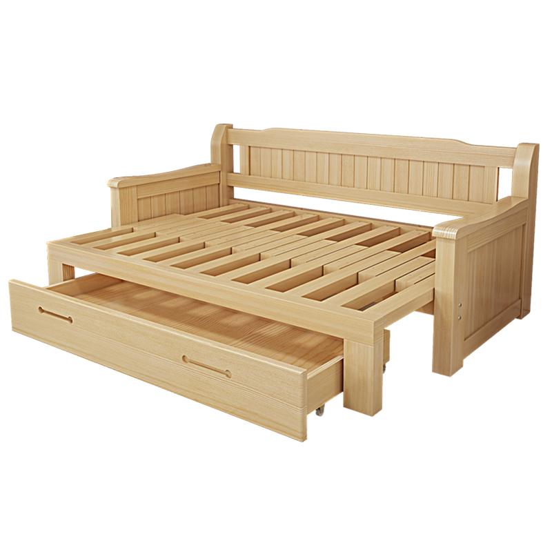 木造ソファベッド折りたたみ式小型多機能の1 . 5メートルツイラ保存両用リビング1 . 8ペア1 . 2
