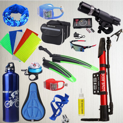 MTB Riding Equipements Bicycles Set Ensemble complet Spree Road Racing Dead Speed ​​Accessoires de décoration de voiture
