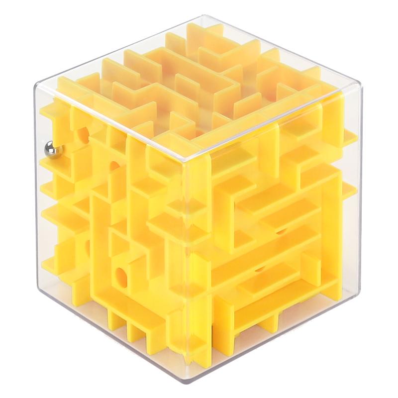 ستيريو 3D لغز لعبة الكرة الكرة الأطفال الأولاد هدية لعبة الذكاء مكعب روبيك متاهة الروضة