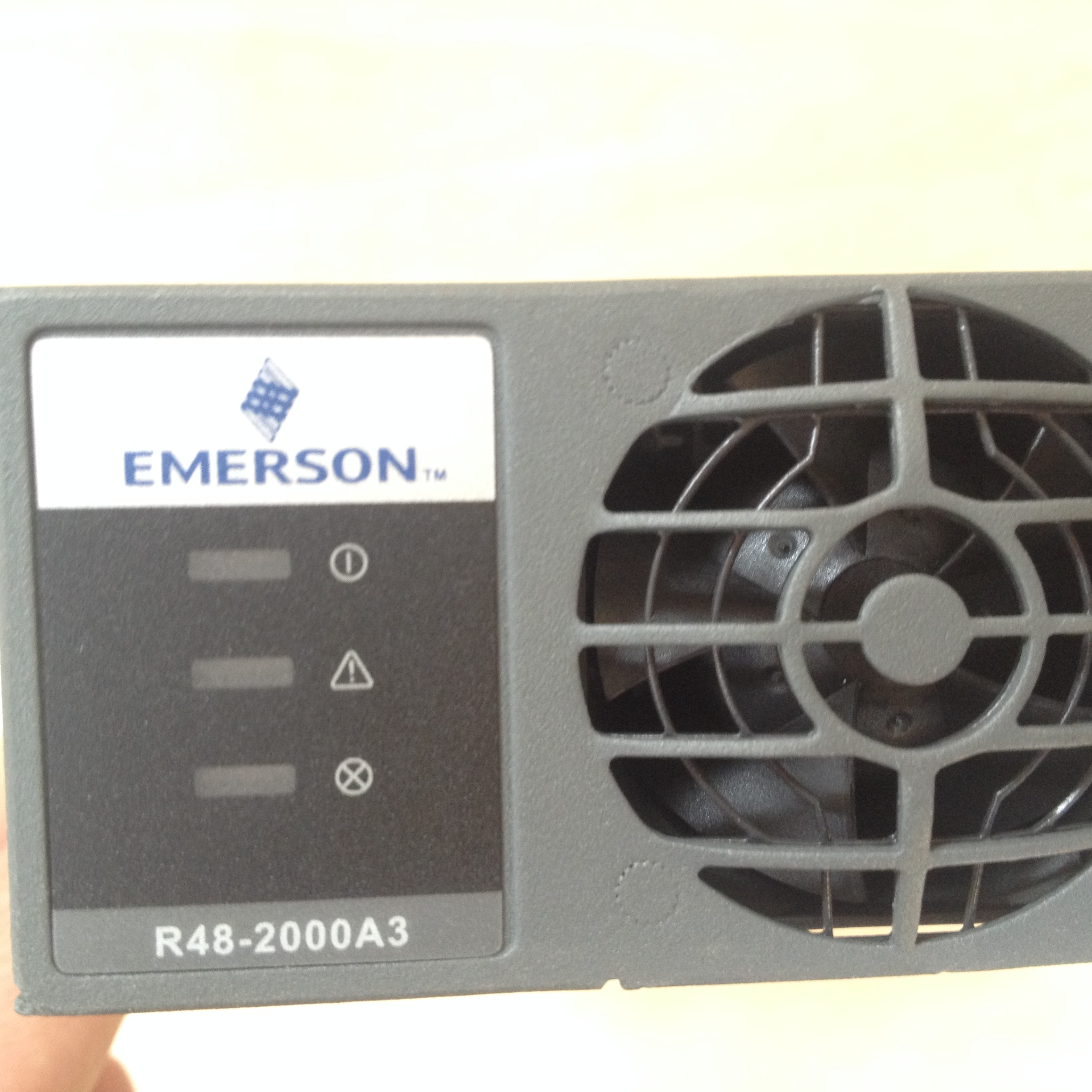 New non package Emerson R48-2000A3 high efficiency power module