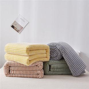 毛毯被子绒床单毯子床单人牛奶绒加厚法兰绒冬季宿舍学生绒毯