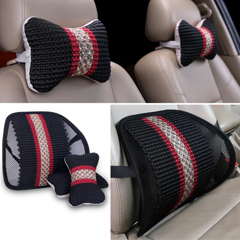 自動車で腰腰保護護頚2点セットを枕に座布団車用の大きな宇宙記憶綿腰垫背もたれスーツ