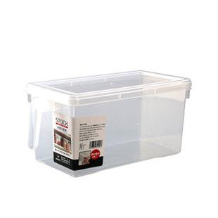 日本进口透明大号水果蔬菜保鲜盒 带把手食品冰箱冷藏储存收纳盒