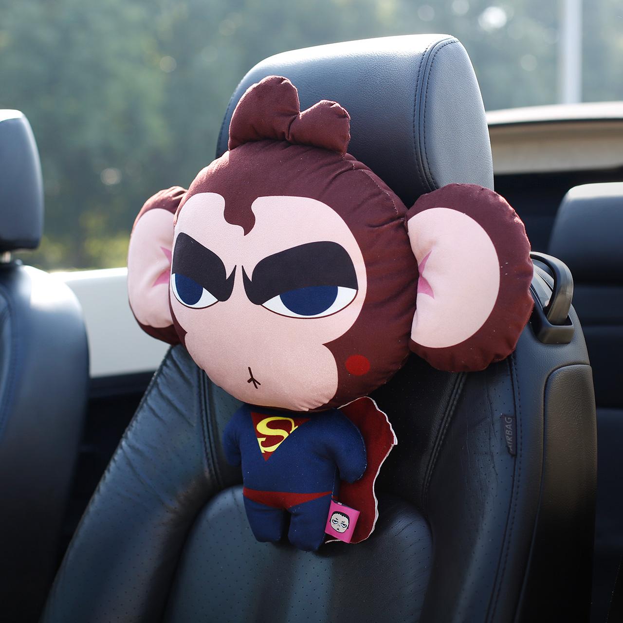 自動車のヘッドレスト前後の漫画の四季の自動車のクッション創意頚枕車内アクセサリーのアップグレードモデル