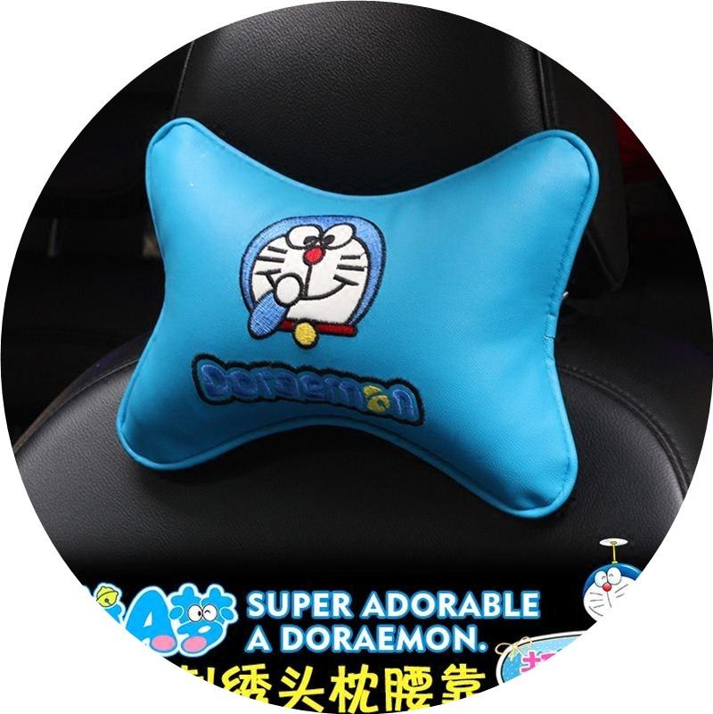 自動車の内装ドラえもん藍デブ枕腰枕でアニメ用機器猫首クッション腰枕枕