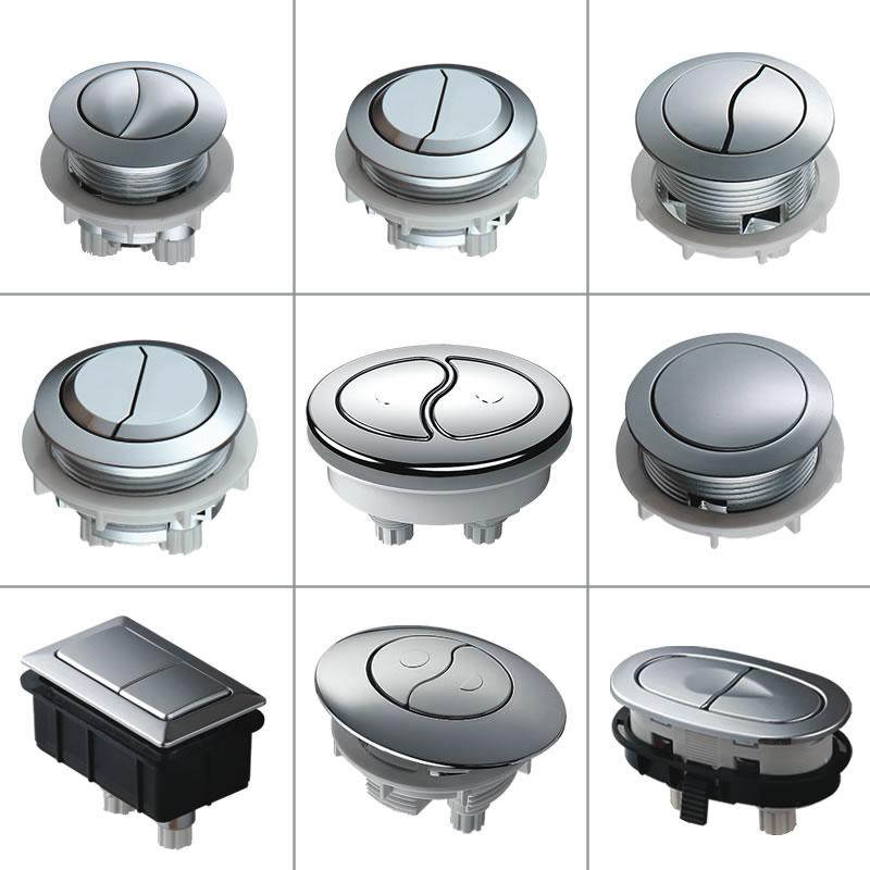 moext水洗スイッチ分体連体旧式水洗トイレ排水弁座便器水槽部品ボタン