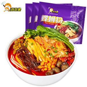 好欢螺螺蛳粉300g*3袋装 广西柳州螺狮粉正宗包邮特产美食酸辣粉