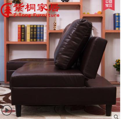 紫桐多機能をロッカー貧乏な客間現代シンプルグループ折りたたみソファベッド1 . 8メートル