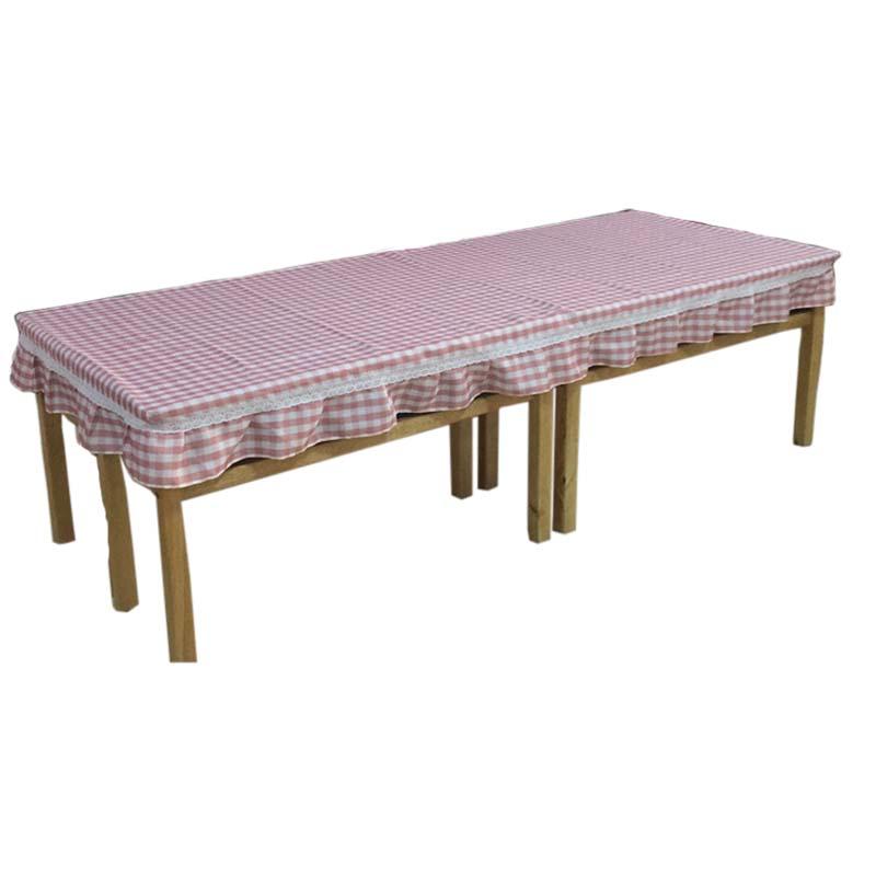 幼儿园桌布布艺长方形桌罩包邮防水防滑餐布桌布桌套学生课桌