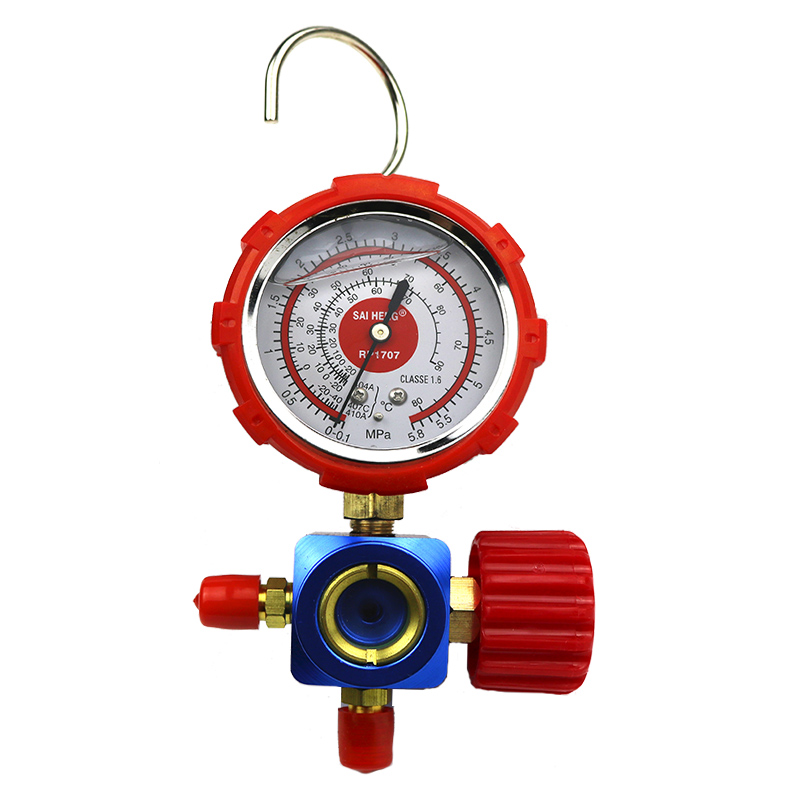 Air conditioner, fluorine meter, R22R410R404a refrigerant, snow meter, variable frequency air conditioner refrigerant pressure gauge
