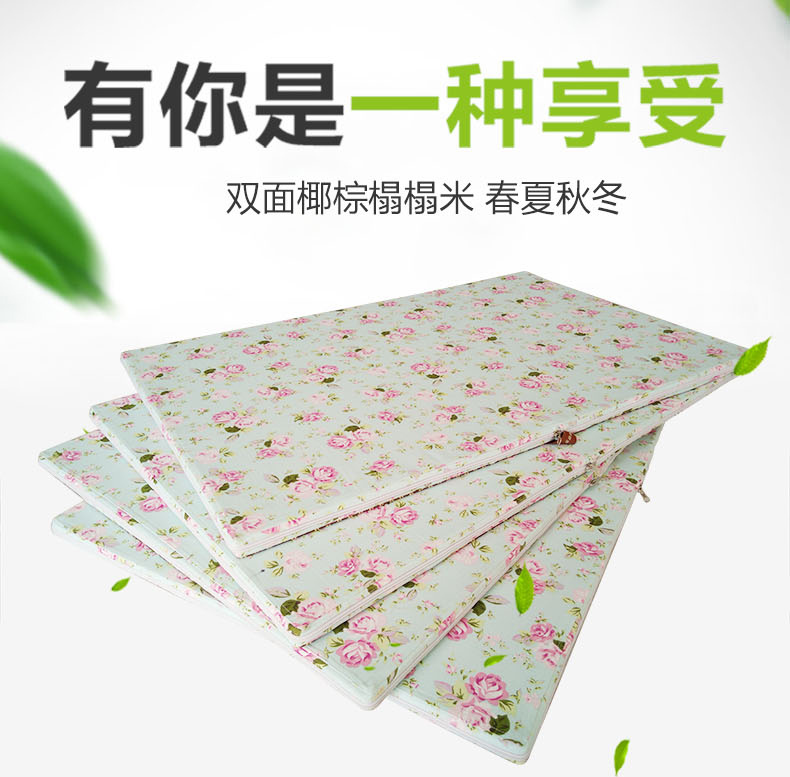 Tatami mats made coir double-sided washable tatami bed tatami mats cushion cushions pad platform