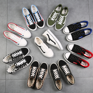 春季男士帆布鞋男鞋休闲鞋男韩版学生布鞋潮板鞋情侣低帮小白鞋子