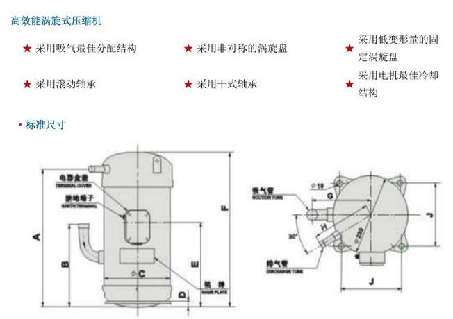 El compresor de aire acondicionado Daikin compresor JT1FBVDKTYR nuevo JT1FDVDKTYR