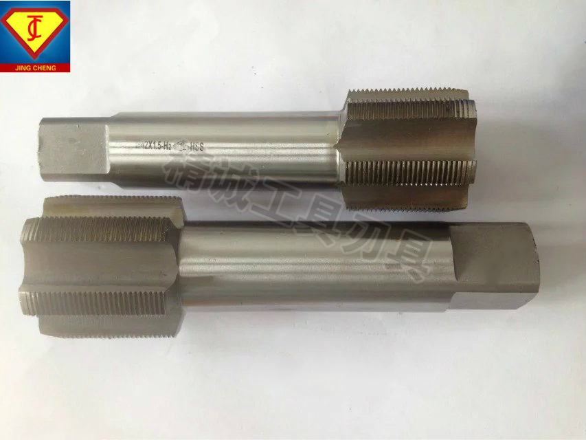 High speed steel large straight groove standard tooth fine tooth machine tap M80/M85/M90/M95 non-standard