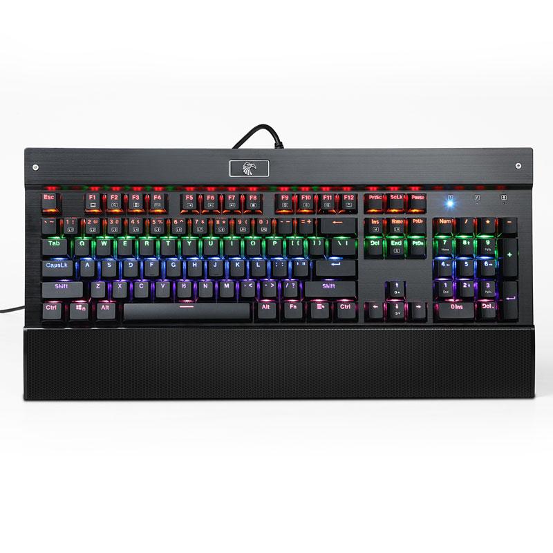 e osa koneen näppäimistö Z77 peli qing - akselin 104 avain usb - kaapeli - taustavalon esport näppäimistön koneiden musta kuilu
