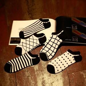 袜子男士春秋季短袜船袜隐形纯棉袜低帮浅口防滑男人袜夏天薄防臭
